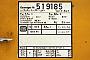 "IWK 61051-xx - DB  ""51.9185"" 20.01.1994 - Friedberg (Hessen)Mathias Bootz"