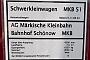 "Robel 21.11-RE 33 - MKB ""51"" 08.09.2019 - Berlin-SchönowWolfgang Rudolph"