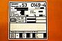 "Robel 54.13-1-RN 25 - DB AG ""53 0149-4"" 11.09.1994 - HeidelbergMathias Bootz"