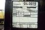 "Robel 54 RF 1 - DBG ""04 0019-?"" 27.03.1994 - DuisburgMathias Bootz"