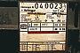 """Robel 54 RF 5 - DB AG """"04 0023-4"""" 10.04.1994 - WiesbadenMathias Bootz"""