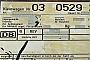 "Schöma 3837 - DB AG ""03 0529"" 20.02.2004 - Mannheim RangierbahnhofUwe Jöstingmeier"