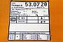 """Sollinger Hütte 7844 - DB AG """"53 0728-5"""" 05.04.1995 - HannoverMathias Bootz"""