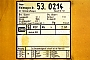 "Waggon-Union 16725 - DB AG ""53 0214-6"" 04.06.1998 - WetzlarMathias Bootz"