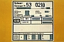 "Waggon-Union 16729 - DB AG ""53 0218-7"" 19.01.2000 - Frankfurt (Main)Mathias Bootz"