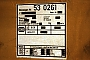 "Waggon-Union 16772 - DB AG ""53 0261-7"" 05.04.1995 - HannoverMathias Bootz"
